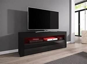 Tv Lowboard Rot Hochglanz : tv element tv schrank tv st nder entertainment lowboard luna 140 cm k rper schwarz matt ~ Sanjose-hotels-ca.com Haus und Dekorationen