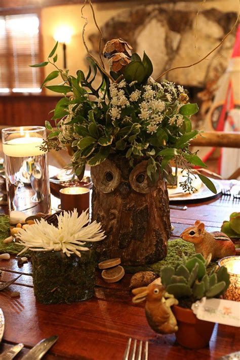 woodland baby the elaborate details in this woodland baby shower will
