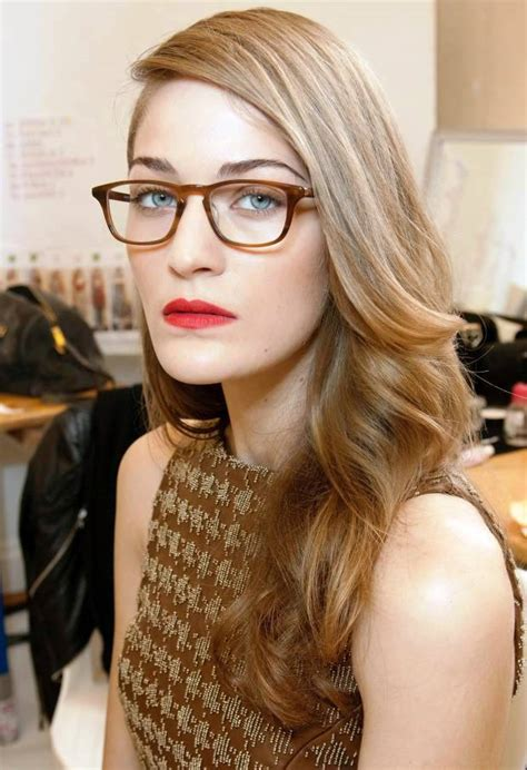 hairstyles  women  glasses   stunning