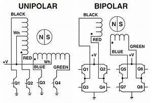 stepper motor controller With controller wiring diagram further 4 wire stepper motor control on nes