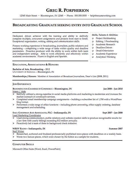 sample resume for college sample resumes resumewriting com