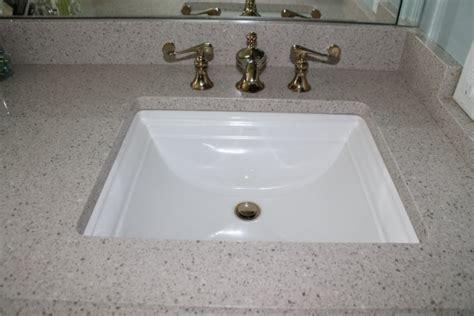 quartz bathroom vanity countertop custom sink