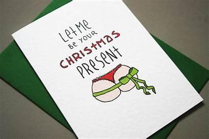 Cards Naughty Boyfriend Christmas Card Funny Him