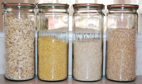 glass kitchen storage jars glass food storage in weck jars i like using the 1 liter 3801