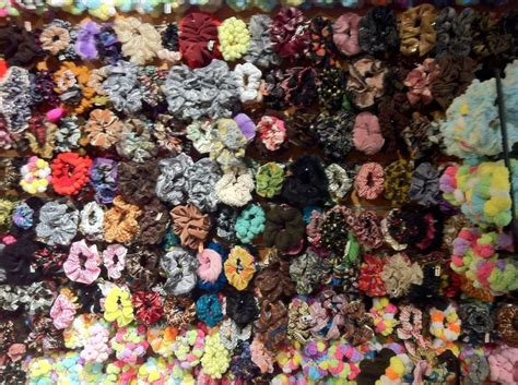 wall  scrunchies accessories scrunchies hair ties