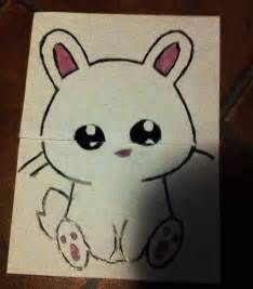Little Cute Bunny Drawing