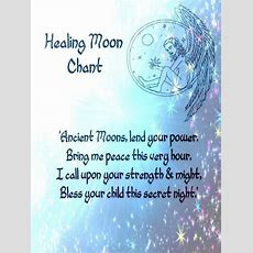 Healing Spell Moon Chant  Witchy Things  Pinterest  Wicca, Magic Spells And Moon Spells