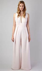 Combinaison Pantalon Femme Mariage : combi pantalon taille haute cr pe ~ Carolinahurricanesstore.com Idées de Décoration