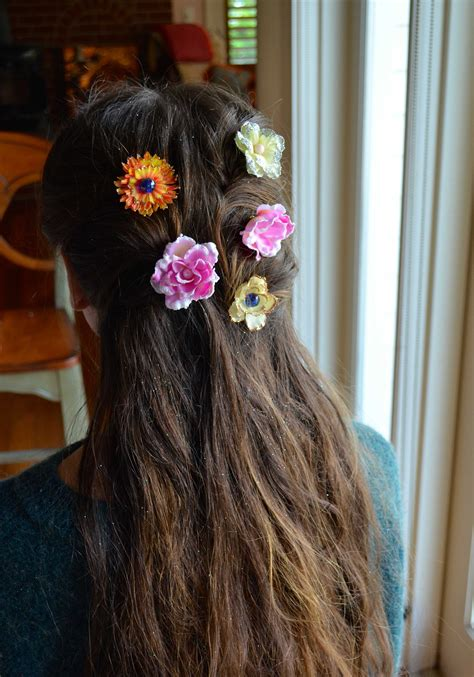 flower hair accessories diy projects craft