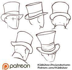 top hats reference sheet  kibbitzerdeviantartcom