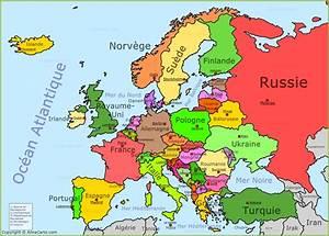 Carte Europe Media Nav Gratuit : carte de l 39 europe ~ Medecine-chirurgie-esthetiques.com Avis de Voitures