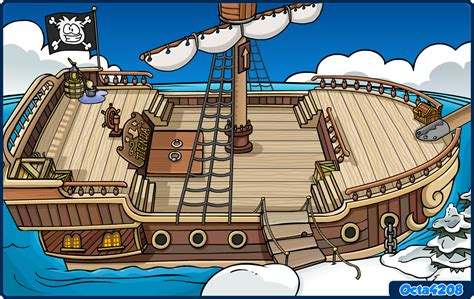 Barco Pirata Interior by Na Nano Abril 2011