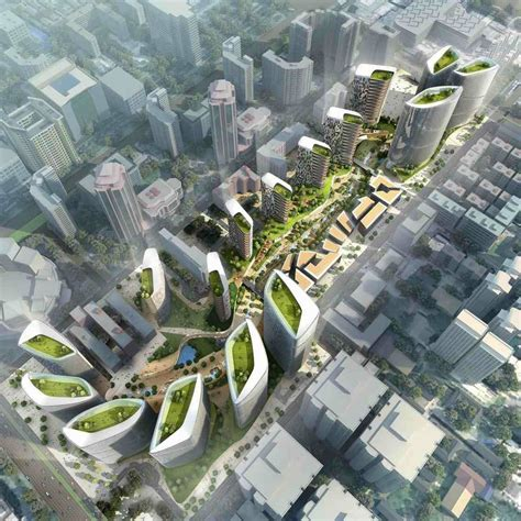 The Green Dunes Urban Park , Beijing  Girimun Architects