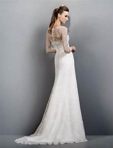39sheath wedding style dresses39 make a flairy appearance for Sheath wedding dress