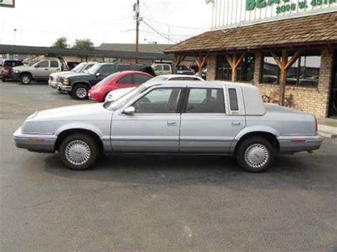 92 Chrysler New Yorker by Chrysler New Yorker Sedan For Sale 92 Used Cars From 780