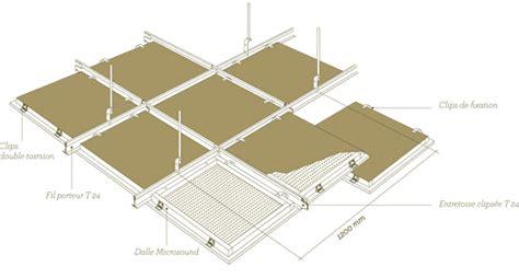 dalle plafond suspendu 60x60 maison travaux