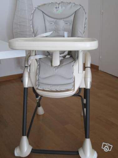 table rabattable cuisine chaise haute omega bebe confort