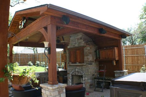 patio fireplace pictures and ideas