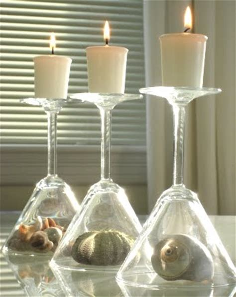 Candle Decorating With Glasses tablescape magic turn your glasses