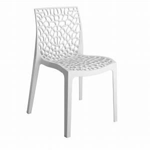 Chaise Leroy Merlin : chaise de jardin en r sine grafik blanc leroy merlin ~ Melissatoandfro.com Idées de Décoration