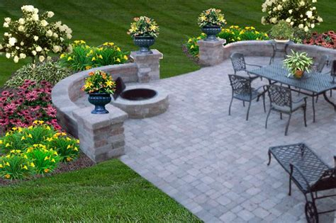how to create an outdoor oasis patio pictures pit