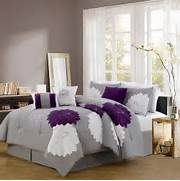 Bedroom Colors Grey Purple by 1000 Images About Purple And Grey Bedding Bedroom Decor On Pinterest