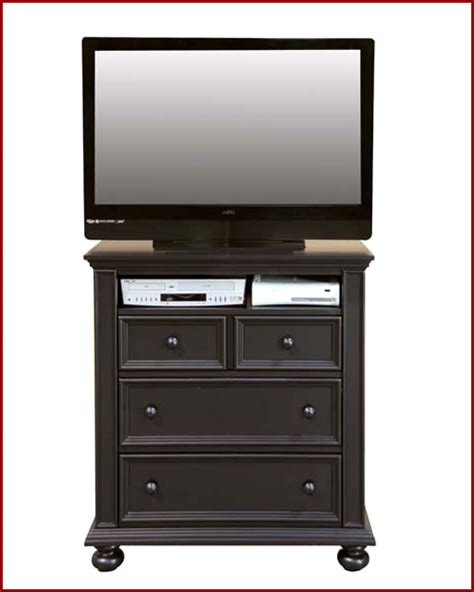 Winners Only Bedroom Height Tv Chest Cape Cod In Ebony Wo