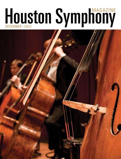 ISSUU - Houston Symphony Magazine- December 2012 by ...