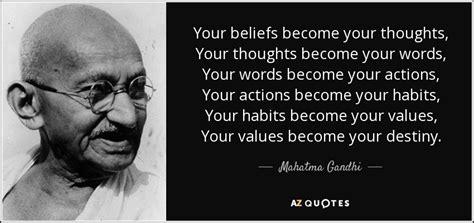 mahatma gandhi quote  beliefs   thoughts