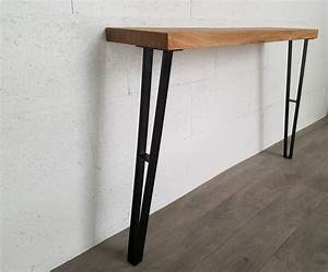 Pied De Table En Acier : pieds de table de repas en acier 71cm ref cti71 pyeta ~ Teatrodelosmanantiales.com Idées de Décoration