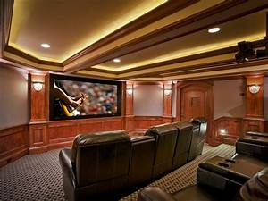 Basement Home Theaters and Media Rooms: Pictures, Tips