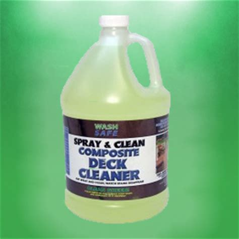 Trex Deck Cleaner by Spray Clean Composite Deck Cleaner Wash Safe Canada