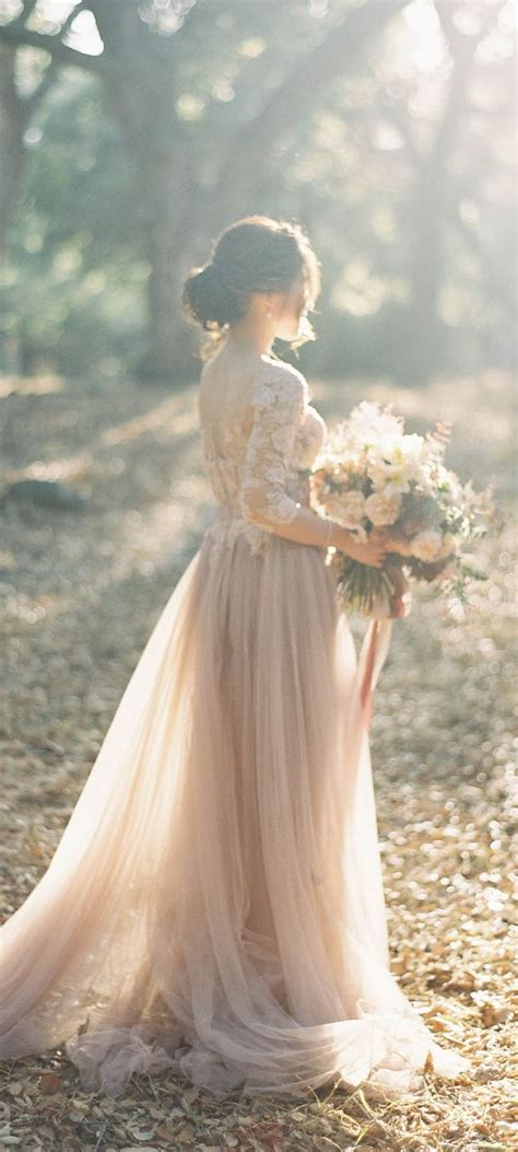 Fall Weddingsuch A Dreamy Wedding Dress With Its Full