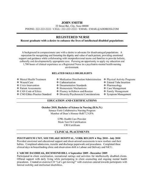 Resume Builder For Registered Nurses by Nursing Resume Builder Template Design