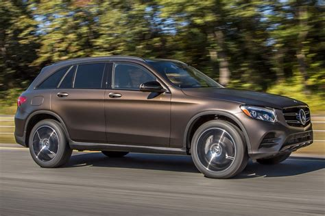 The cabin is fairly spacious for a small suv with excellent materials throughout and solid construction. 2016 Mercedes-Benz GLC-Class Pricing - For Sale | Edmunds