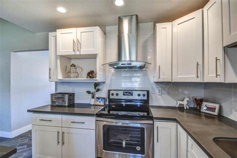 kitchen and bath cabinets az white shaker kitchen bath remodel gallery mesa az
