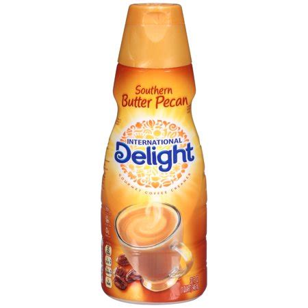 This southern butter pecan creamer is just delicious. International Delight Southern Butter Pecan Gourmet Coffee Creamer 32 fl. oz. Bottle - Walmart.com