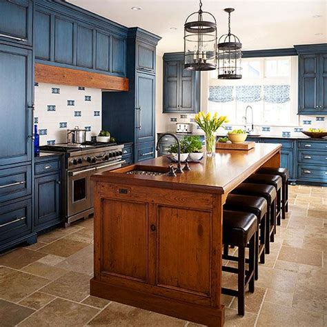 blue stained kitchen cabinets 25 best ideas about brown kitchens on brown 4839