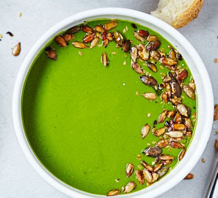 spinach watercress soup recipe bbc good food