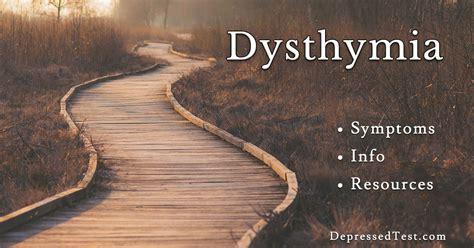 dysthymia symptoms treatment books