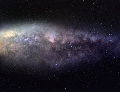 Majestic Milky Way Stock Photos Image