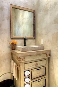 fabriquer un meuble de salle de bain a partir de recup With repeindre meuble salle de bain