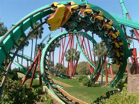 Busch Gardens Williamsburg Rollercoasters by Amusement Park Accidents