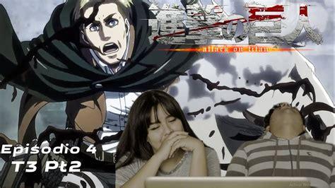 shingeki  kyojin temporada  parte  episodio