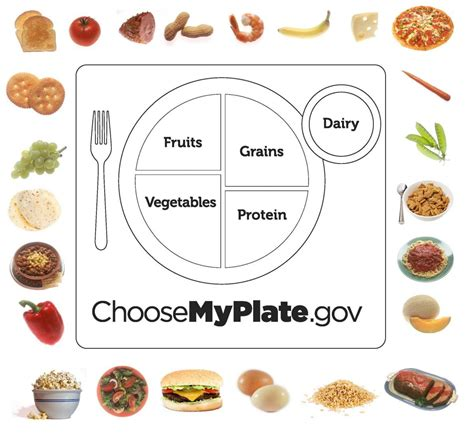 preschool nutrition and fitness ohioline 609 | BB ChooseMyPlate activity