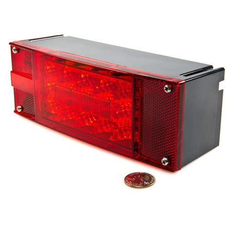 clear led trailer tail lights rectangle 8 led truck and trailer lights kit 8 brake