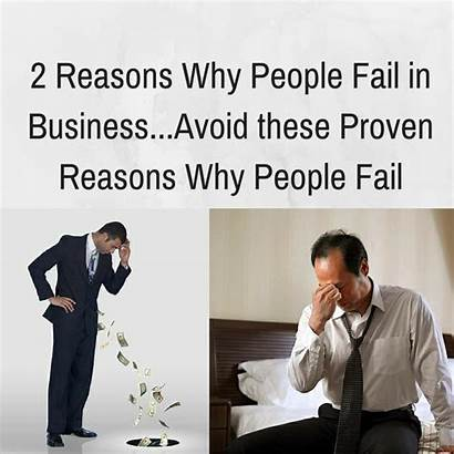 Fail Why Reasons Business Avoid