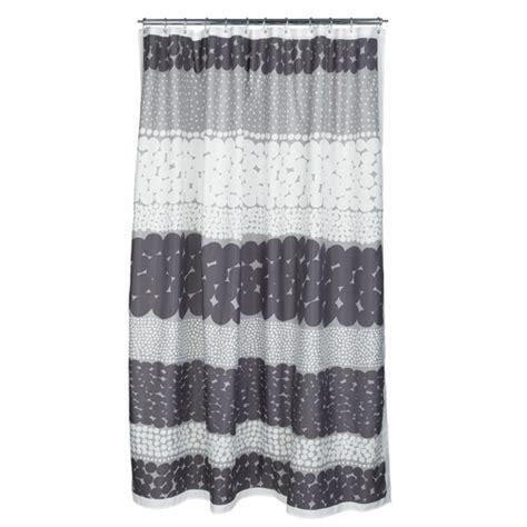 marimekko jurmo grey white shower curtain marimekko bed