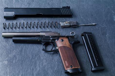 German Geiger GRP Roller Delayed Blowback Pistol ...