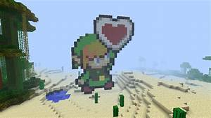 Minecraft Pixel Art: Link by LeakyMilky on DeviantArt